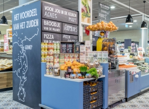 Retail analysis in a supermarket kitchen of Jan Linders
