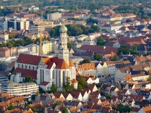 The city of Augsburg