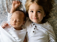 Infants who have a sibling with ASD are at risk for the same developmental disorder