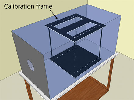 calibration frame Track3D