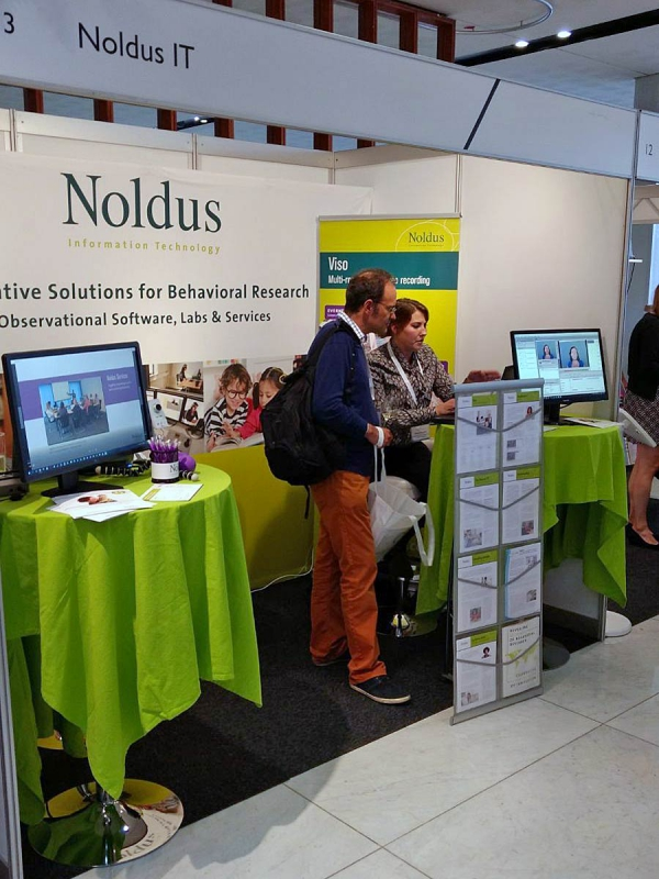 Noldus exhibiting at the ECP 2017 conference in Amsterdam