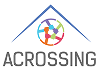 Acrossing logo for in text