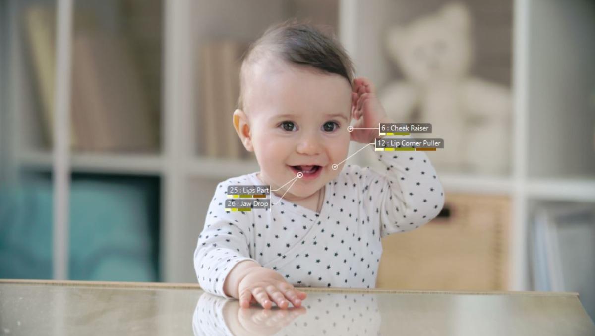 baby facereader infant boy screenshot action units
