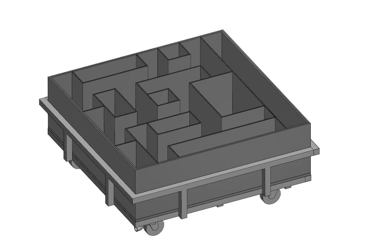 cincinnati maze illustrated
