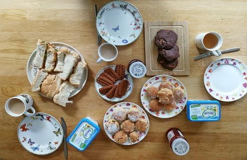 Cookies Biscuits Food Table