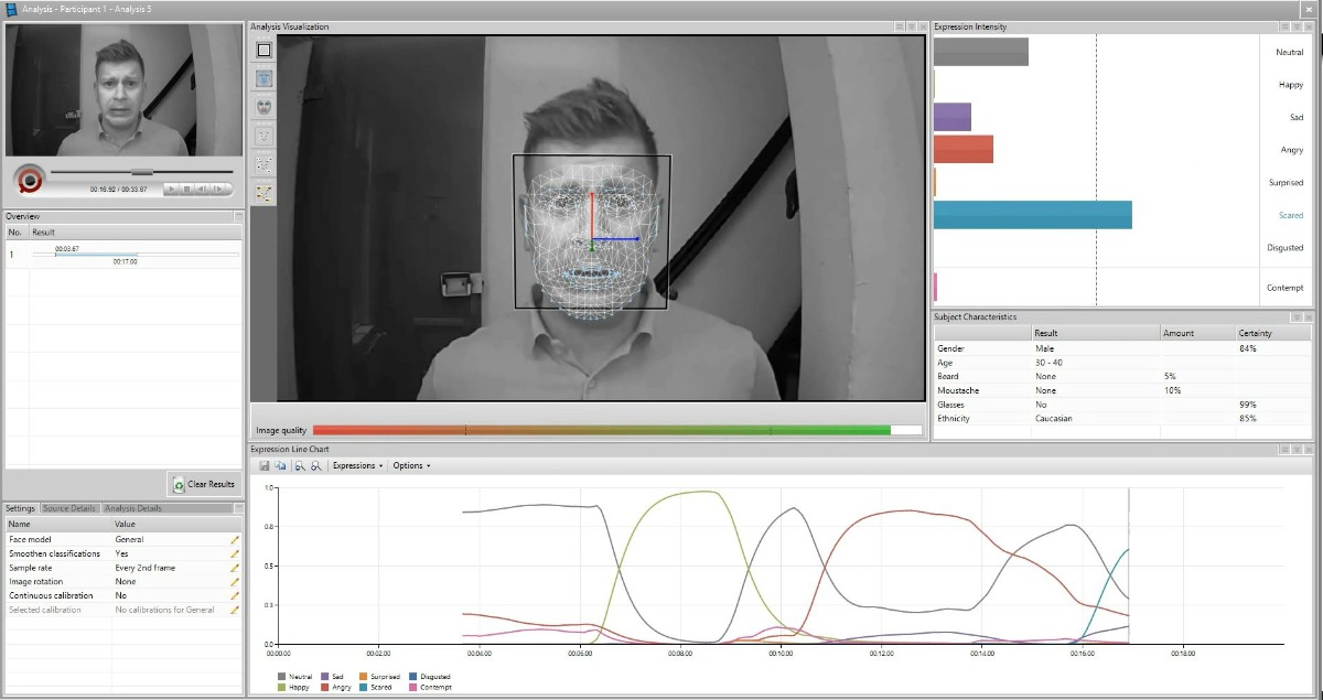 FaceReader IR infrared recording 01