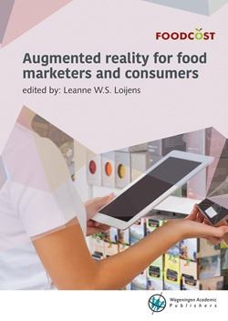 Foodcost cover augmented reality