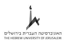 hebrew university jerusalem logo