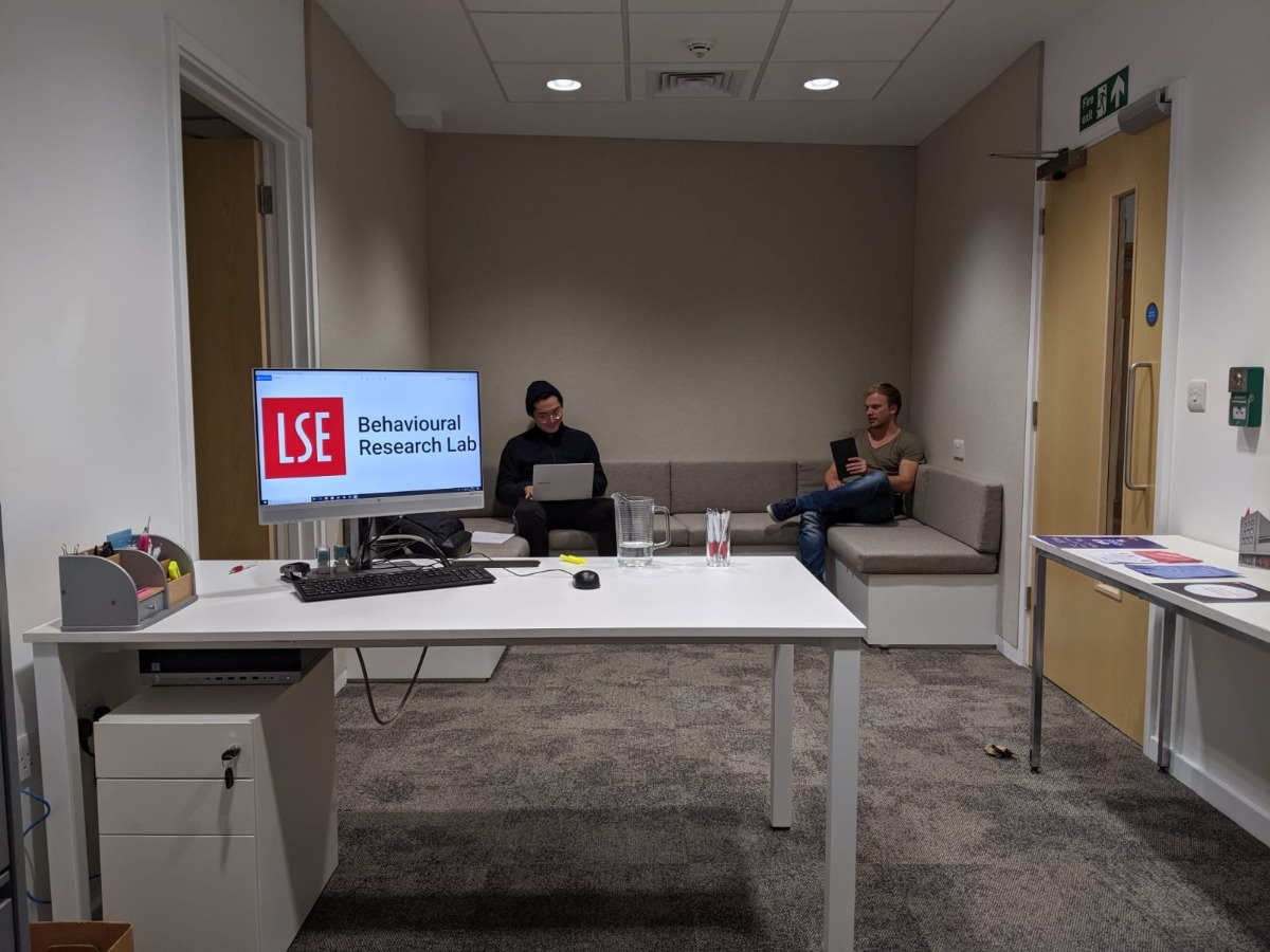 LSE Behavioural Lab for research