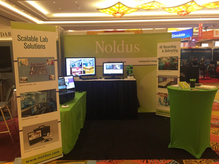 Noldus conference sales booth