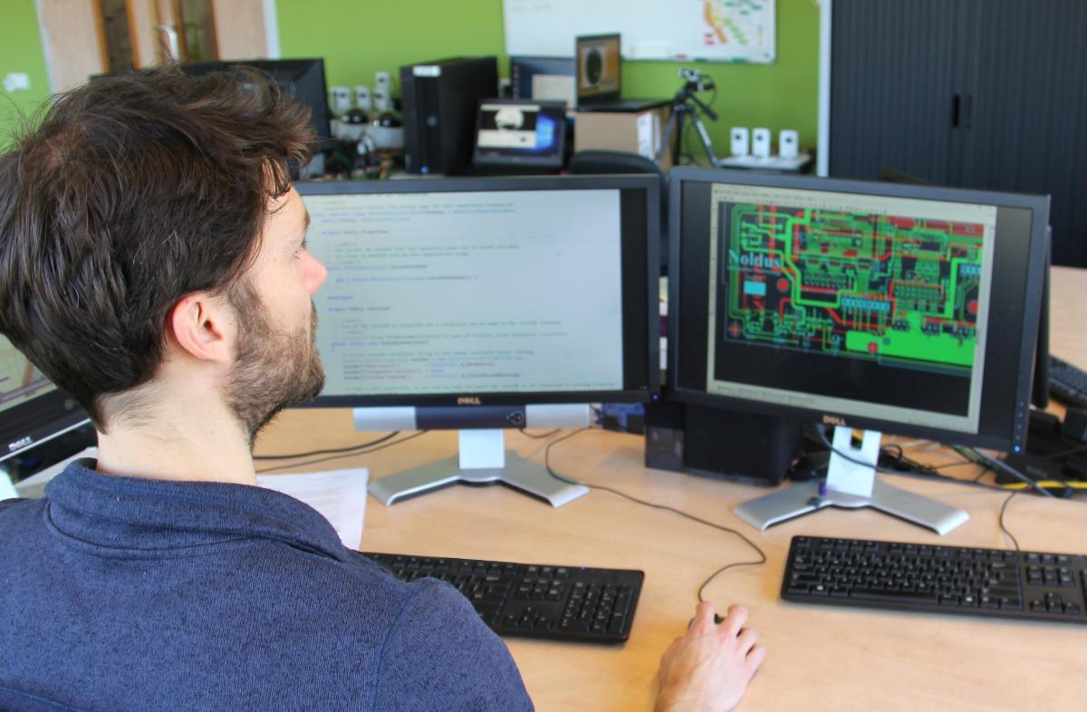 Noldus personnel RD workspace