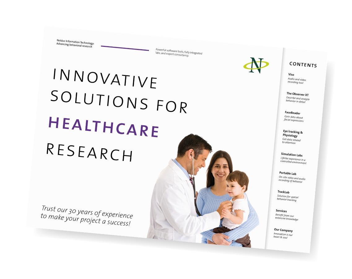 noldus product portfolio healthcare