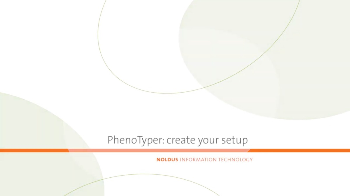 PhenoTyper customizable video
