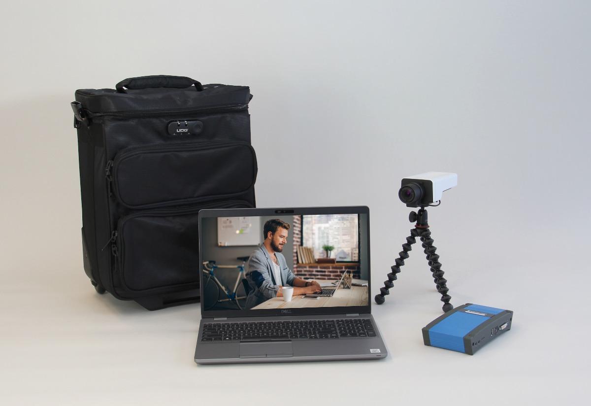 Portable usability lab UX setting