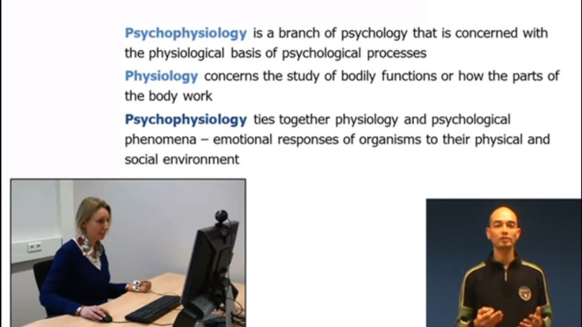 PsychoPhysiology workshop Patrick
