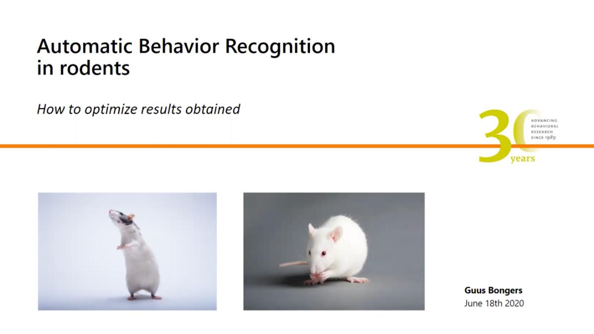 screenshot webinar behavior recognition