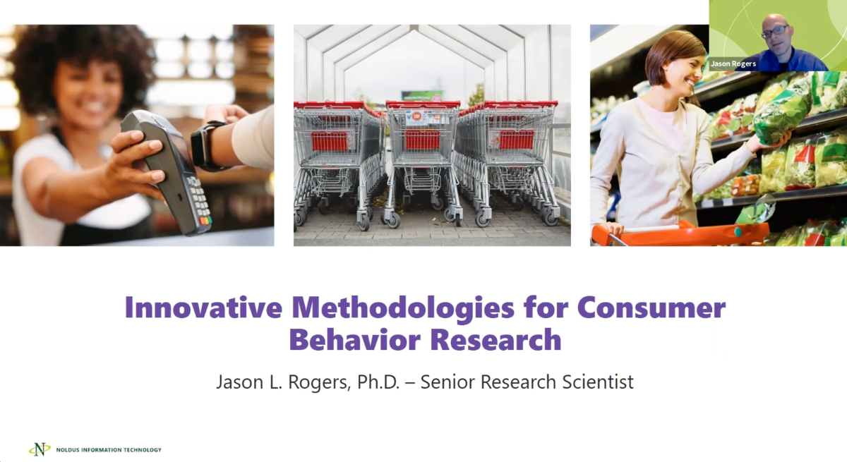 screenshot webinar consumer behavior research