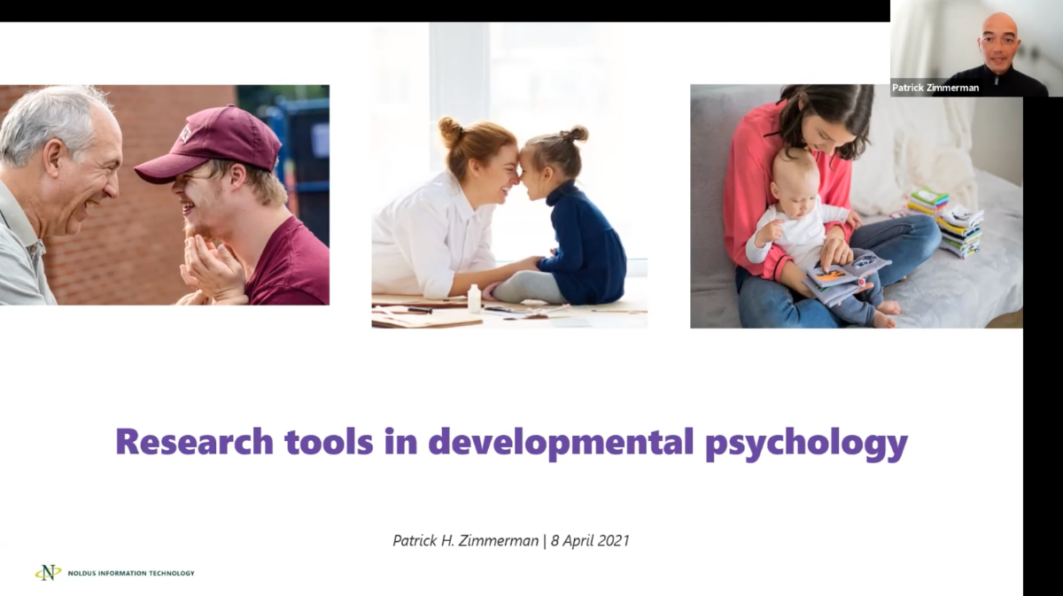 screenshot webinar developmental psychology
