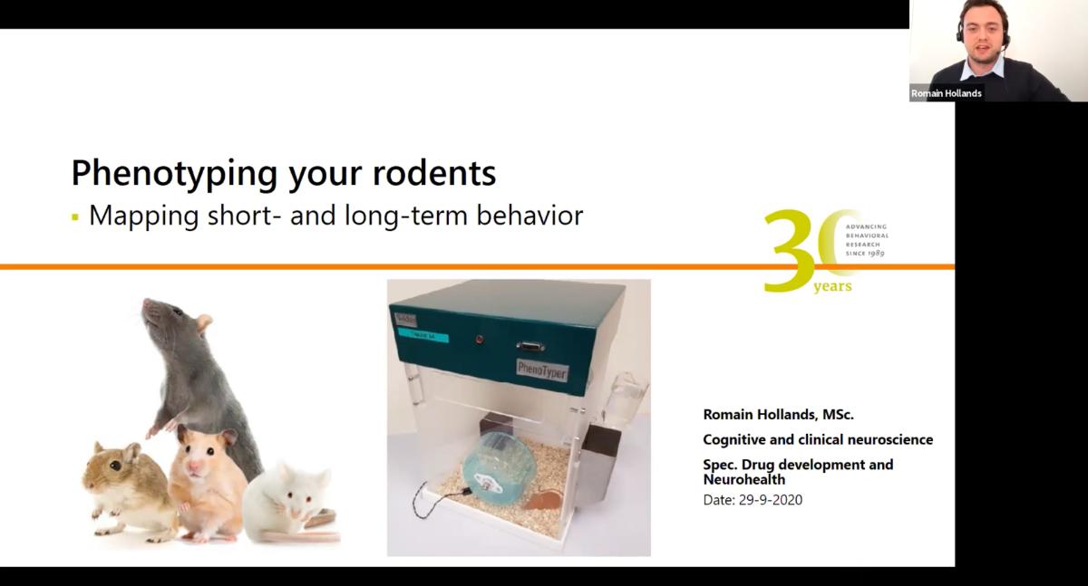screenshot webinar phenotyping rodents