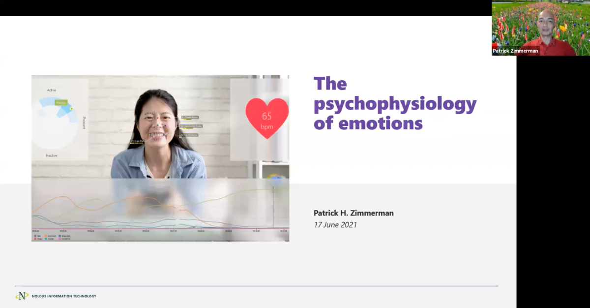 screenshot webinar psychophysiology of emotions