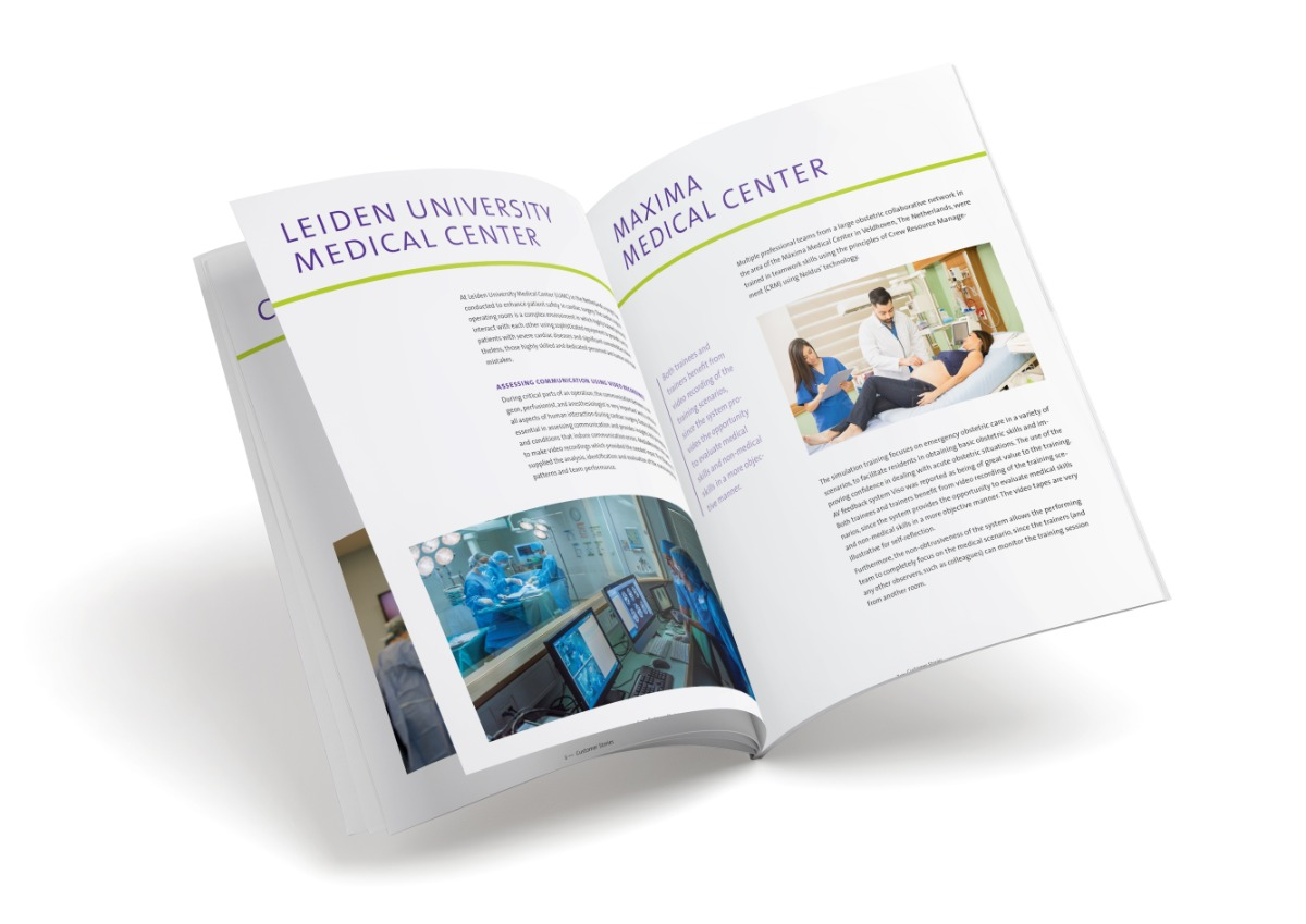 White paper Viso customer stories in healthcare
