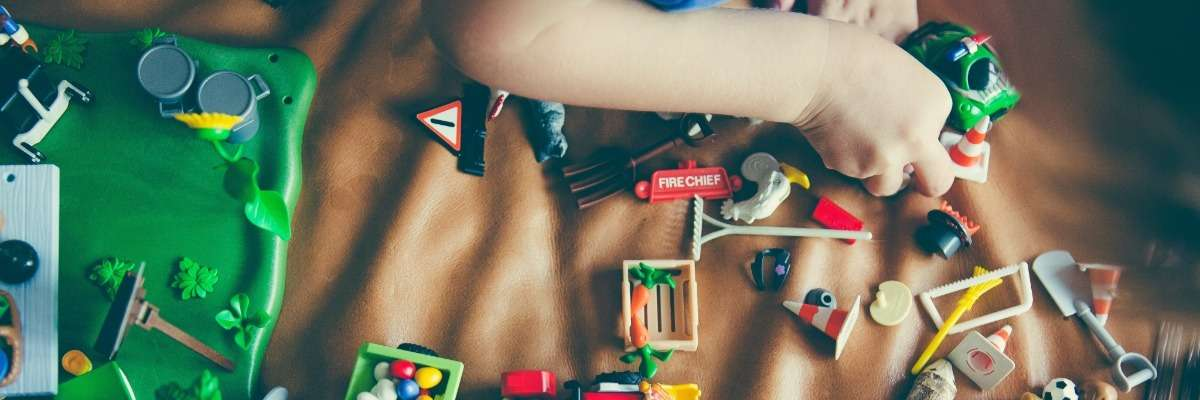 Using augmented toys to facilitate play in children with visual impairments